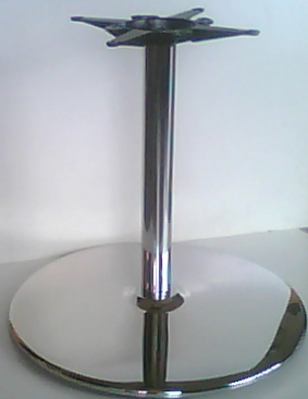 Stainless Steel Table Bases Chrome Table Bases Round - 30 inch table base
