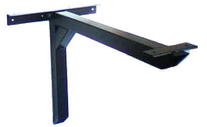 Wall mount table cantilever