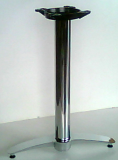 Two Prong Chrome Table Base Model 2165C